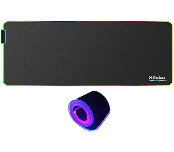 Sandberg RGB Soft Desk Pad XXXL + DOPRAVA ZDARMA