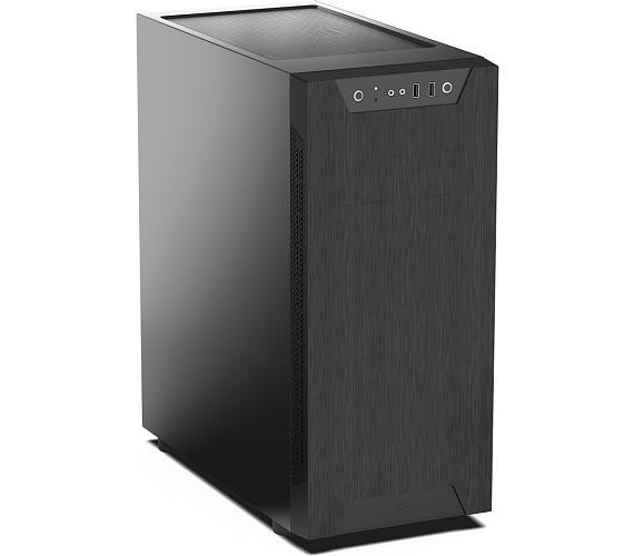 SilentiumPC skříň MidT Armis AR5 / 2x USB 3.0/ 2x 120mm fan/ černá (SPC209) + DOPRAVA ZDARMA