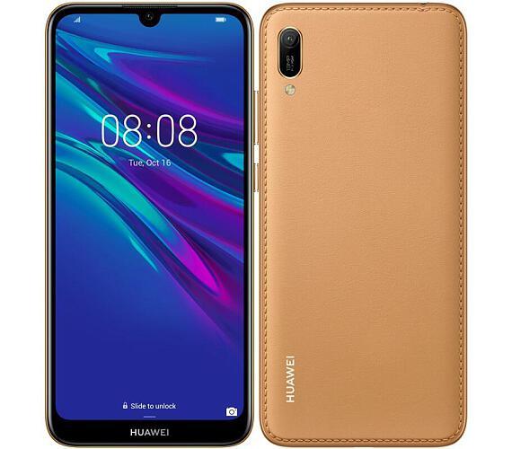 Huawei Y6 2019 DualSIM gsm tel. Amber Brown + DOPRAVA ZDARMA