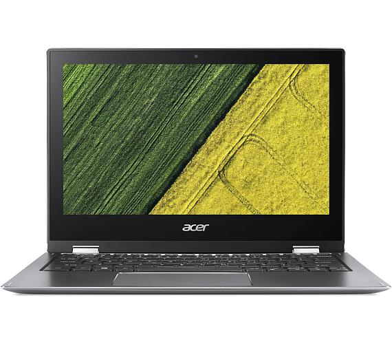 "Acer Spin 1 - 11,6T""/N5000/4G/eMMC64GB/W10S šedý + stylus (NX.H67EC.001)"