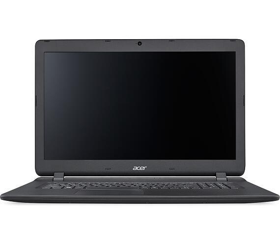 "Acer Aspire ES 17 (ES1-732-C157) Celeron N3350/4GB+N/A/1TB+N/A/DVDRW/HD Graphics/ 17.3"" HD+ LED lesklý/BT/W10 Home/Black (NX.GH4EC.00"