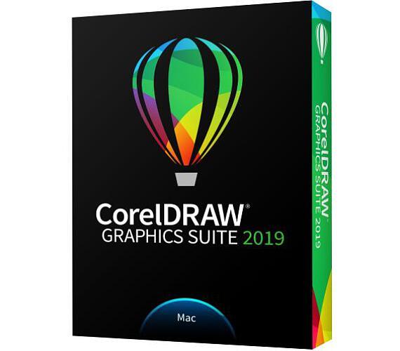 CorelDRAW Graphics Suite 2019 Mac (CDGS2019MMLDPEM) + DOPRAVA ZDARMA