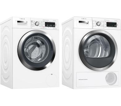 Bosch WAW326H0EU iDOS + Sušička prádla Bosch WTW855H0BY + DOPRAVA ZDARMA