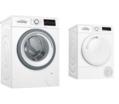 SET Pračka Bosch WAT28480CS Serie 6 + Sušička Bosch WTR83V00BY