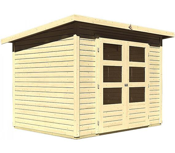 Dřevěný domek Lanit Plast KARIBU STOCKACH 3 (82978) natur
