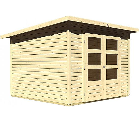 Dřevěný domek Lanit Plast KARIBU STOCKACH 4 (82980) natur