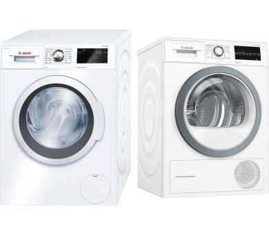 SET Pračka Bosch WAT28660BY + Sušička Bosch WTW85480CS