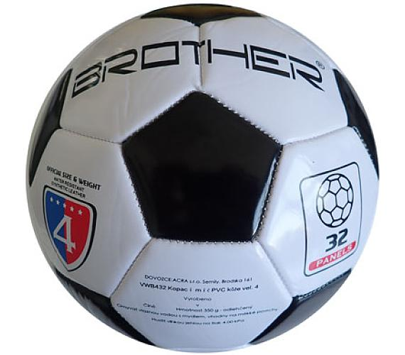 Kopací míč BROTHER - odlehčený - vel. 4