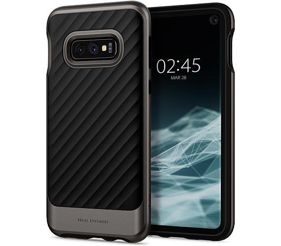 Spigen Neo Hybrid pro Samsung Galaxy S10e metalický