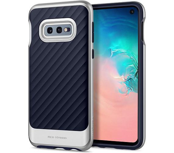 Spigen Neo Hybrid pro Samsung Galaxy S10e stříbrný