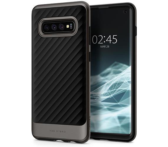 Spigen Neo Hybrid pro Samsung Galaxy S10 metalický
