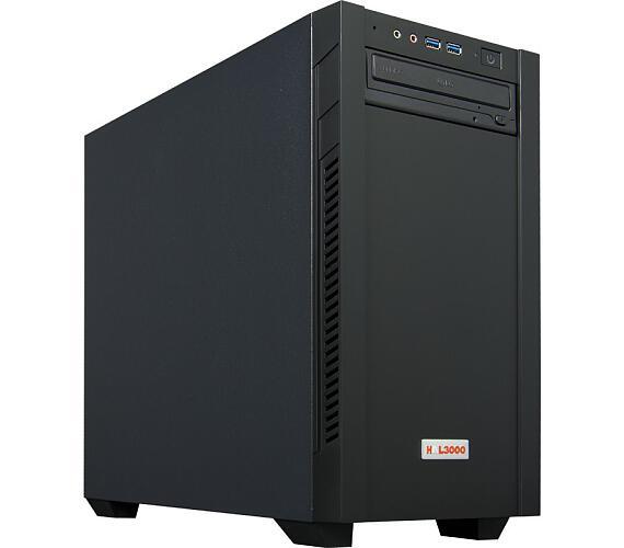 HAL3000 Online Gamer / AMD Ryzen 3 3200G/ 8GB/ RX 570/ 240GB SSD + 1TB HDD/ DVD/ W10 (PCHS2318)
