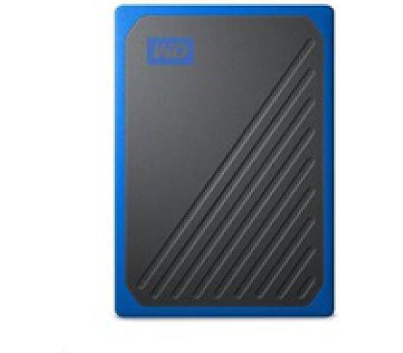 SanDisk externí SSD WD My Passport GO SSD 500GB USB 3.0 modrá (WDBMCG5000ABT-WESN)