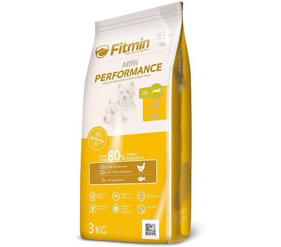 FITMIN dog mini performance - 3 kg