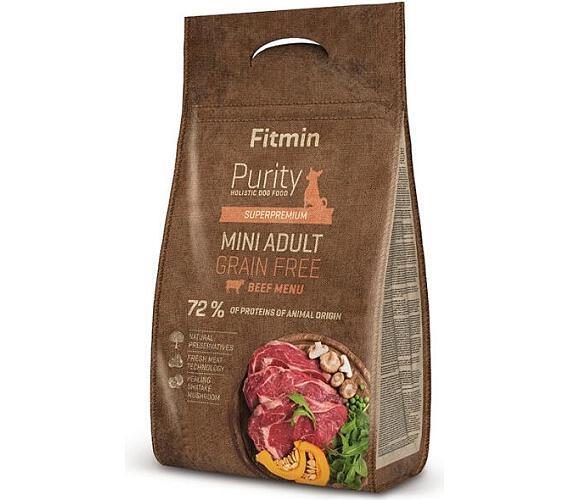 FITMIN dog Purity GF Adult Mini Beef - 0,8 kg