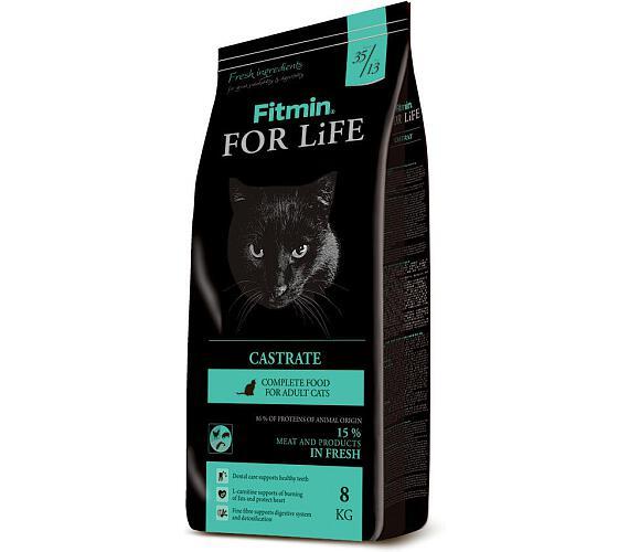 FITMIN cat For Life Castrate - 8 kg + DOPRAVA ZDARMA
