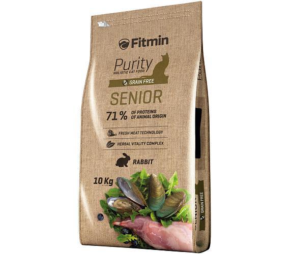 FITMIN cat Purity Senior - 10 kg + DOPRAVA ZDARMA