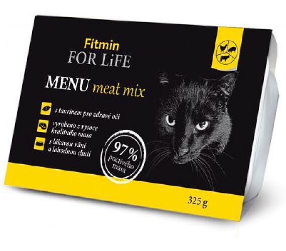 FFL cat MENU meat mix 325g Fitmin