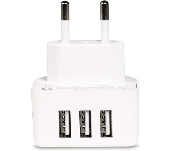 REMAX nabíječka USB / RP-U31 / výstup 3x USB 2.0 typ A samice