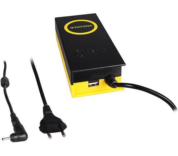 PATONA napájecí adaptér k ntb/ 19V/4,7A 90W/ konektor 3x1,1mm/ + výstup USB (PT2610)