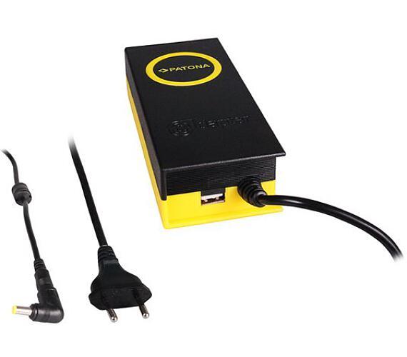 PATONA napájecí adaptér k ntb/ 19V/4,7A 90W/ konektor 5,5x1,7mm/ + výstup USB (PT2613) + DOPRAVA ZDARMA