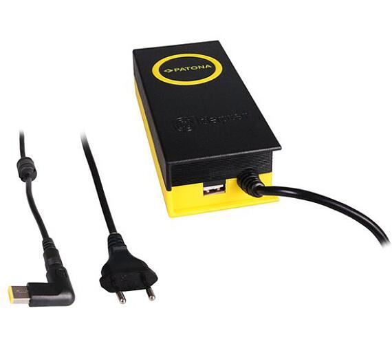 PATONA napájecí adaptér k ntb/ 20V/4,7A 90W/ konektor 11x4,5mm/ Slim Tip/ + výstup USB (PT2625) + DOPRAVA ZDARMA