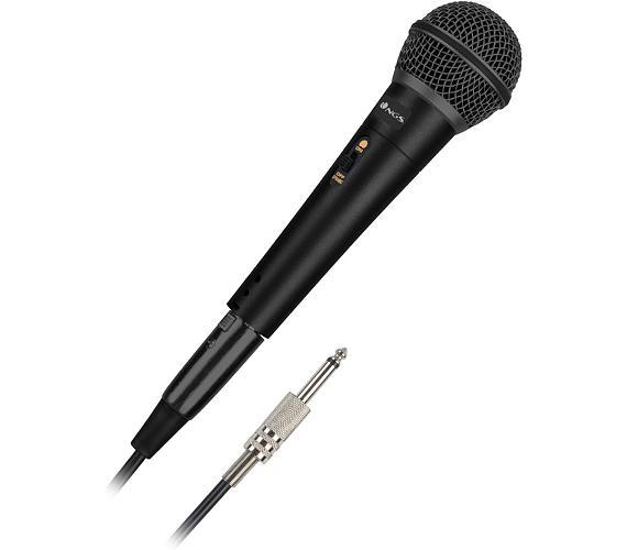NGS Singermetal mikrofon pro karaoke/ 3m kabel