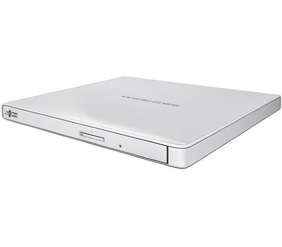 Hitachi-LG GP57EW40 / DVD-RW / externí / M-Disc / USB / bílá