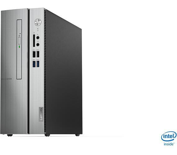 Lenovo IdeaCentre 510S-07ICB i3-8100 3,60GHz/20GB (4GB RAM+16GB Optane)/1TB/GeForce 2GB/DVD-RW/SFF/WIN10 90K8008GCK