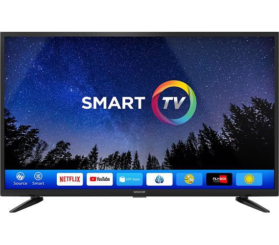 Sencor SLE 40FS600TCS + DVB-T2 OVĚŘENO