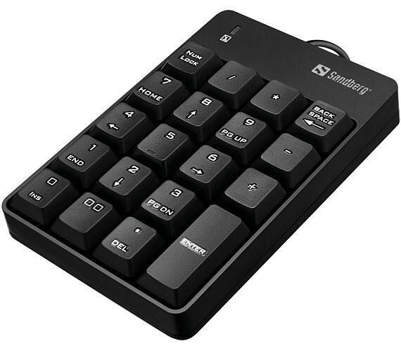 Sandberg numerická klávesnice