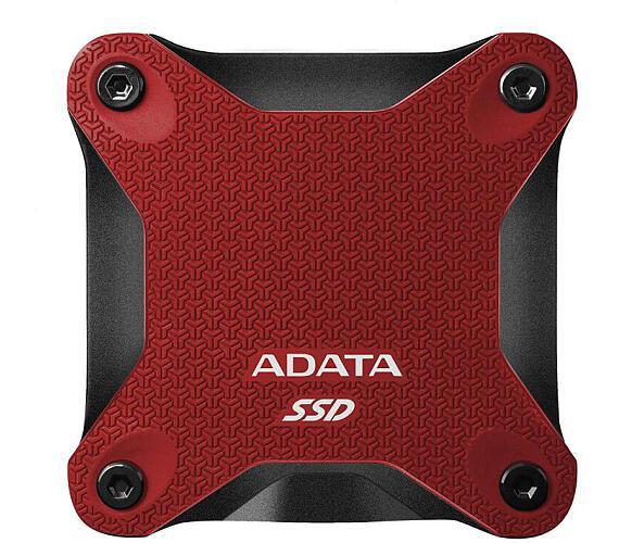 ADATA External SSD 240GB ASD600Q USB 3.1 červená (ASD600Q-240GU31-CRD)