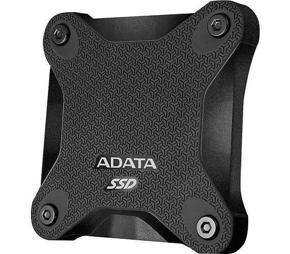ADATA External SSD 480GB ASD600Q USB 3.1 černá (ASD600Q-480GU31-CBK)