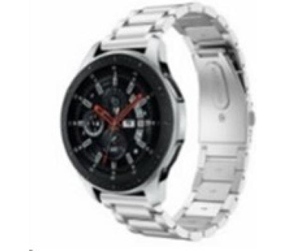 eses kovový řemínek stříbrný pro samsung galaxy watch 46mm/samsung gear s3/huawei watch 2 (1530001062)