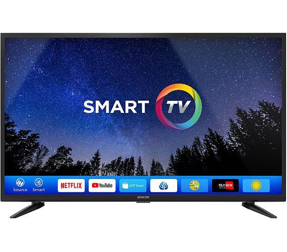Sencor SLE 43FS600TCS + DVB-T2 OVĚŘENO + DOPRAVA ZDARMA