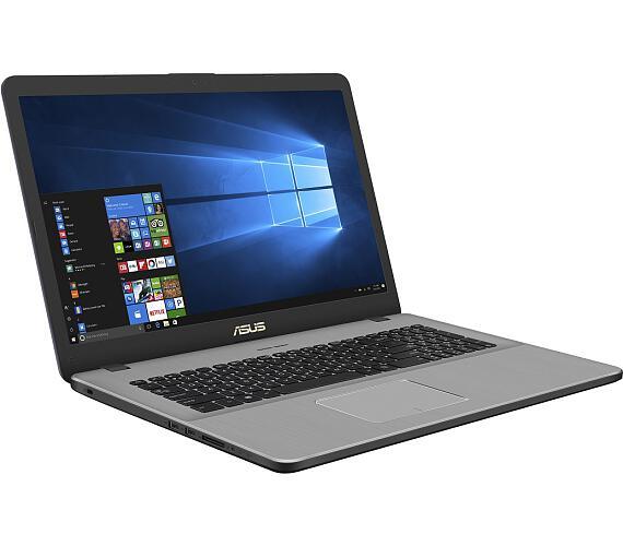 """ASUS N705FN-GC028T i5-8265U/8GB/512GB M.2 SSD/MX150 2GB/17,3"""" IPS FHD matný/W10/Grey"""