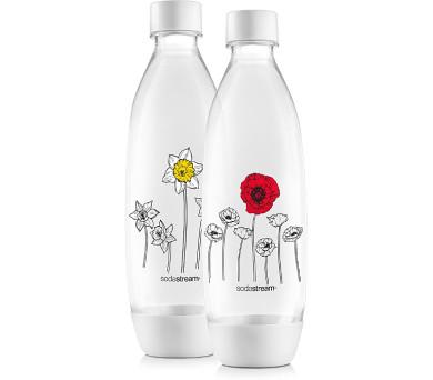 Sodastream Lahev FUSE 2 x 1l (Květiny v zimě)