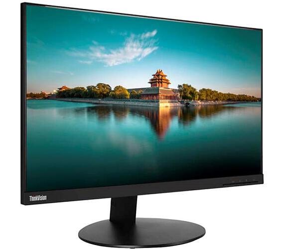 """Lenovo LCD T24i-19 Wide 23.8"""" IPS WLED/16:9/1920x1080/250cd-m2/1000:1/4ms/VGA+DP+HDMI/4xUSB/2x2W repro/Pivot/VESA (61D6MAT2EU)"""
