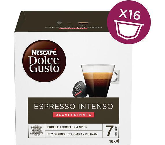NESCAFÉ® Dolce Gusto® Espresso Intenso Decaffeinato kávové kapsle 16 ks