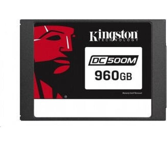 Kingston 960GB SSD Data Centre DC500M (Mixed Use) Enterprise SATA (SEDC500M/960G)