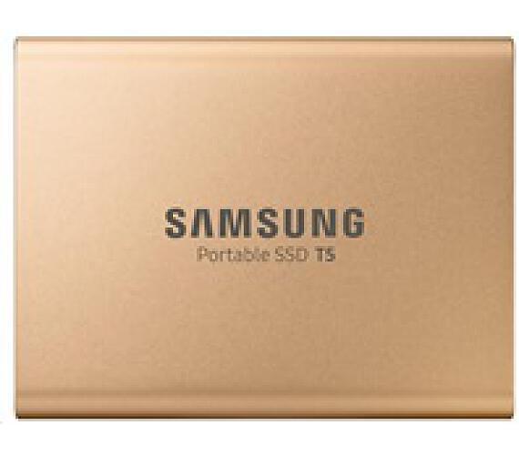Samsung Externí SSD disk - 1 TB - zlatý (MU-PA1T0G/EU)