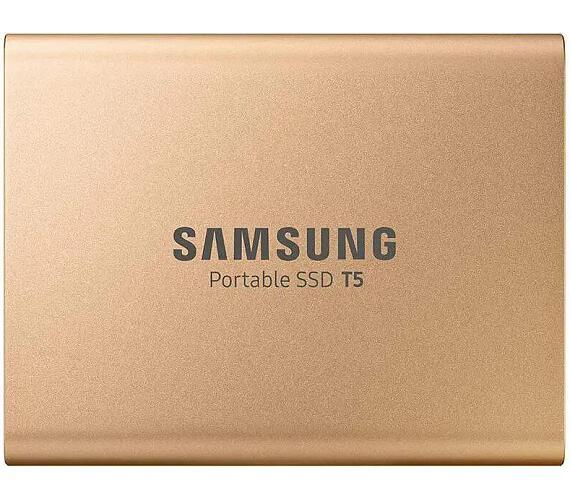 Samsung Externí SSD disk - 500 GB - zlatý (MU-PA500G/EU)