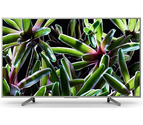 SONY BRAVIA KD-49XG7077 4K HDR TV Motionflow XR 400 Hz (KD49XG7077SAEP) + DVB-T2 OVĚŘENO