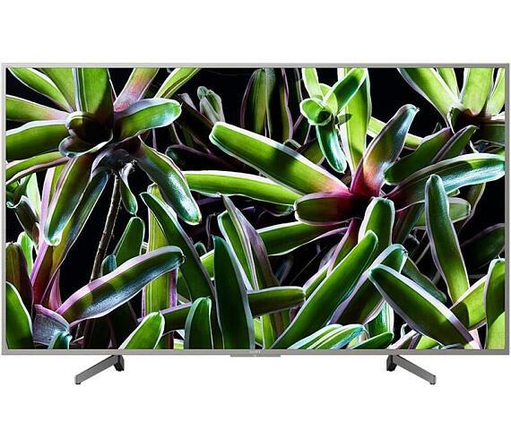SONY BRAVIA KD-55XG7077 4K HDR TV Motionflow XR 400 Hz (KD55XG7077SAEP) + DVB-T2 OVĚŘENO