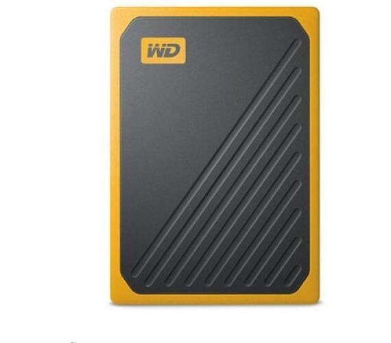 WD My Passport GO SSD 500GB USB 3.0 žlutá (WDBMCG5000AYT-WESN)