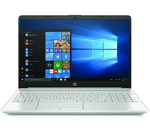 HP NTB 15-dw0003nc/15,6 FHD AG TN/Pentium Gold 4417U/4GB/256GB SSD/Intel HD-UMA/WIFI+BT 4,2/WIN 10 Home/Natural-Silver (6WK69EA#BCM)