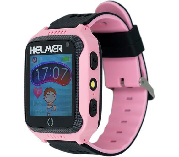 HELMER dětské hodinky LK 707 s GPS lokátorem/ dotykový display/ IP65/ micro SIM/ kompatibilní s Andr
