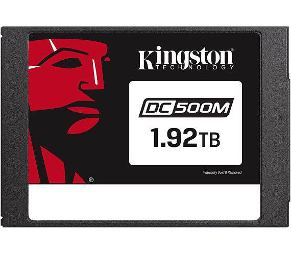 "Kingston Flash 1920G DC500M (Mixed-Use) 2.5"" Enterprise SATA SSD (SEDC500M/1920G)"