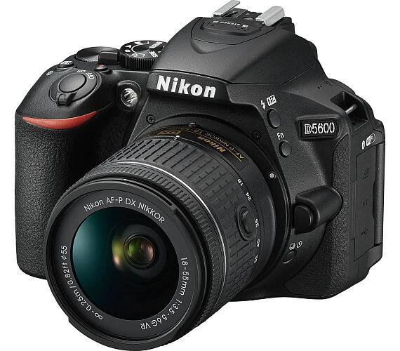 NIKON D5600 Black + 18-55 VR AF-P + 70-300 VR + ČIŠTĚNÍ ČIPU ZDARMA!