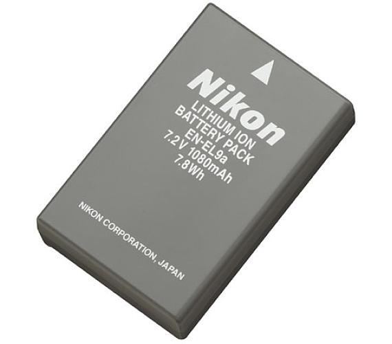 Nikon EN-EL9a dobíjecí baterie + DOPRAVA ZDARMA
